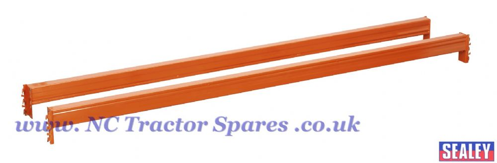 Pair Cross Beams Tube 2250mm 1000kg Capacity